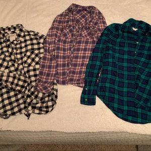 Bundle🔹Juniors Fall Flannels